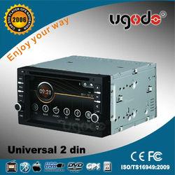 ugode universal car stereo 2 din with gps navigation,BT,IPOD