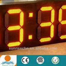 date 7 segment cheap led digital clock screen