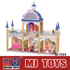 3D DIY Crystal puzzl Flash Castle with light