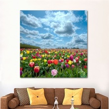 Flower Field Style Home Decoration Art Pictures