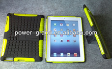 For Ipad 2 combo case, PC and TPU with kickstand, 50pcs to start