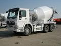 sinotruck 6x4 6 metros cúbicos de cemento de mezcla de hormigón de camiones