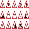 Hign intensity grade reflective traffic outdoor road safety sign sticker