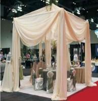 wedding tent drapery background decoration