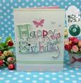 3d música personalizada de tarjetas de felicitación para el cumpleaños
