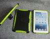 PC+TPU combo case cover for Ipad Mini, with Kickstand, PC+TPU with Kickstand, 50pcs to start