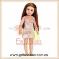 personalizado de plástico nuevo 18 pulgadas african american muñecas