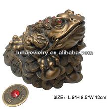 Fabulous Hong Tze Collection feng shui money frog,money frog fengshui products Big size