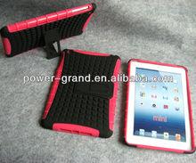 Kickstand PC TPU combo cover for Ipad mini, 50pcs to start
