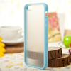 Clear PC+TPU Hybrid cell phone case for iphone 5 s case