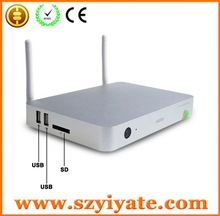 vga to av s-video tv converter switch box New quad core tv box with metal case and Extra WIFI antenna