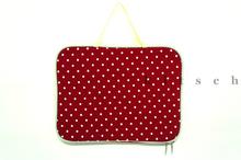 Polka Dot In Red Ipad Case