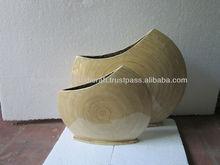 Vietnam Best Buy Products Handicraft Bamboo Decorative Vase