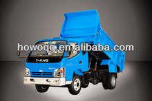 2013 nuevo de la marca china 2 toneladas de luz camión de volteo/forland t- rey