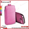 Universial mobile phone leather bag for samsung in high quantity