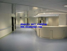 hpl compact laminate board for hospital clean room