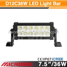 """7.5"""" 36W Off Road LED Work Light marine led"""