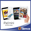 Transparent screen protectors for ipad mini retina protection film with high quality and best price