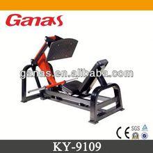 Brilliant black & red fitness equipment for sale KY-9109/ Leg Press Machine