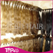 Wholesale Grade AAAA double drawn thick ends russian hair