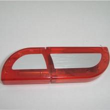 Hot sale 8GB customised logo printing plastic usb flash drive for gift