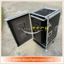 "ST ATA Safe Speaker Case for QSC K8 12"" Speaker Road Case Flight case with foam & Caster"