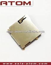 Push-push type micro sd memory card unlocker outside solder type