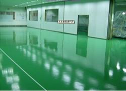 Epoxy mortar floor paint for concrete