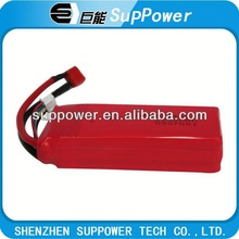 Universal high rate lithium polymer battery battery powered rc boat rechargeable battery