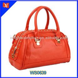 2014 Fashion korean style Lady Women's Handbag Satchel bag korean hobo pu leather handbag,hobo tote leather purse handbag