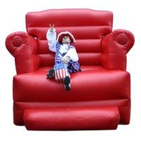 Photo taken inflatable birthday chair