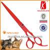NPK15 Pet shears with red teflon coating best grooming shears