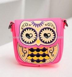 Fashion Owl Sling Bag Cross Shoulder Bag Owl Messenger Bag For Girls Women Ladies