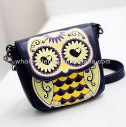 Cute Owl Sling Bag Cross Shoulder Bag Owl Messenger Bag For Girls Women Ladies