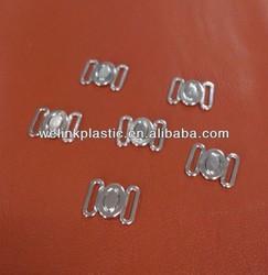 Gold plating rhinestones zamak alloy bra front closure bra buckle