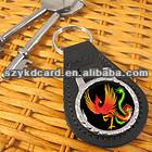 125Khz TK4100/EM4100 RFID leather keytag