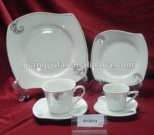24pcs graceful design porcelain dinnerware set