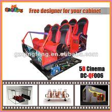 Entertainment cinema equipment, 5d,6d,7d,8d,9d cinema theater, attractive 5d cinema simulator