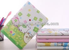 Lovely dolphin leather case for ipad mini with inside card bag