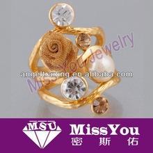 Most popular Gold Rose Rings Design For Women For Wedding