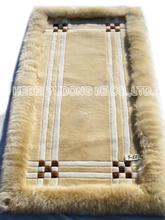 auténtica piel de oveja de lana cama de virtud laica