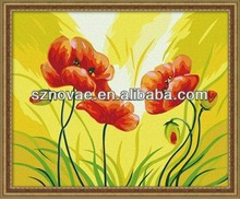 Modern Decorative Flower Simple Design Oil Painting