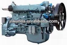 CNHTC howo original engine 260HP-440HP EURO2/howo tractor truck engine