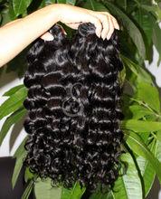 nueva llegada 5 grado virgen de pelo rizado italia superior sensación de productos para el cabello