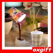 OXGIFT coffee Led table lamp,Desk lamp