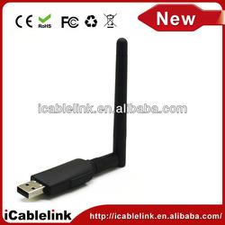 Mini 300M USB wireless lan adapter WiFi adapter dongle Wireless network Networking Card