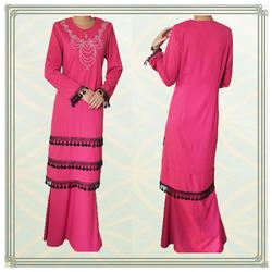 modern lace baju kurung designs 2013
