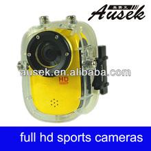 support 32GB memory camcorder 720p 60fps waterproof micro helmet camera