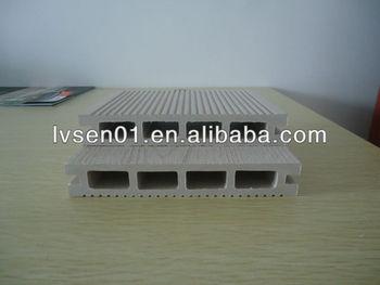 Durable Water Proof Outdoor Wood Plastic Composite Deck/wpc Floor Passed Ce