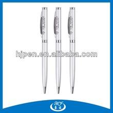 Hot Selling Cheap Promotional Metal Logo Biro Pen